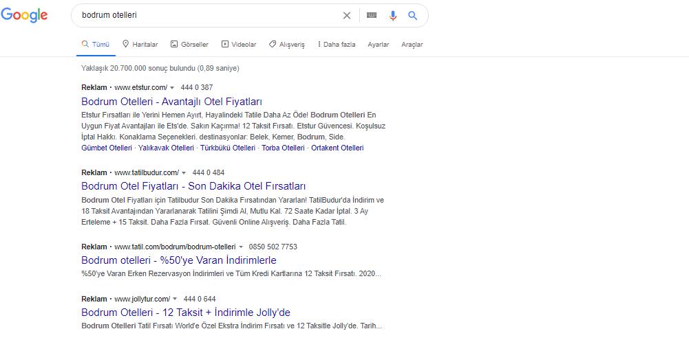 google nereden para kazanır