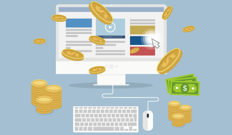 internet sitesi ile nasıl para kazanılır